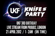 Knife Party Live @ UKF 3rd birthday 20-04-2012