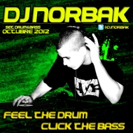 DJ NORBAK – Feel The Drum, Click The Bass (D'n'B Mix) [Oct 2012]