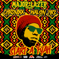 Major Lazer Presents: Chronixx + Walshy Fire – Start a Fyah Mixtape [Free Download]