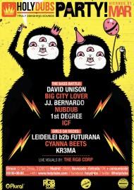 EVENTO: HOLYDUBS presenta The Bass Battle (Sala Siroco, Madrid, Viernes 1 deMarzo)