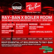 Baauer B2B RL Grime – Ray-Ban x Boiler Room's SXSW (45 min video set + FREE DL)
