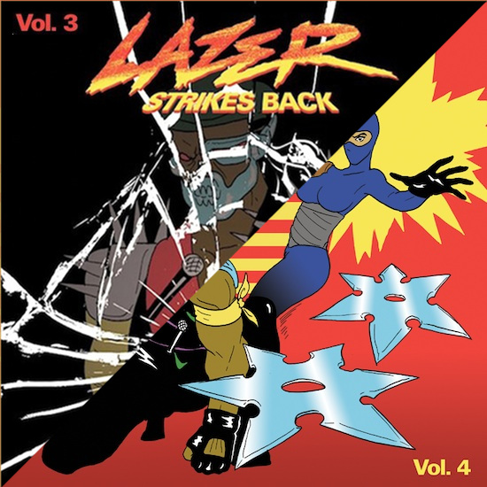 DUBSPAIN Major Lazer - LAzer strikes back 3 - 4